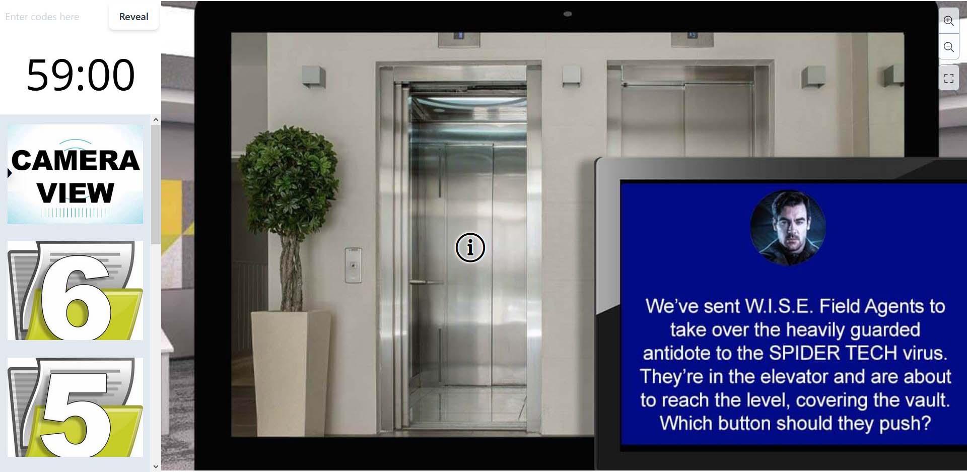 wirtualny escape room